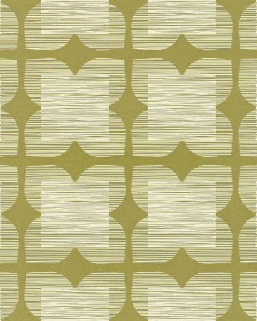 Flower-Tile-orla-kiely-behang-kleur-bay-leaf-art-no-110421