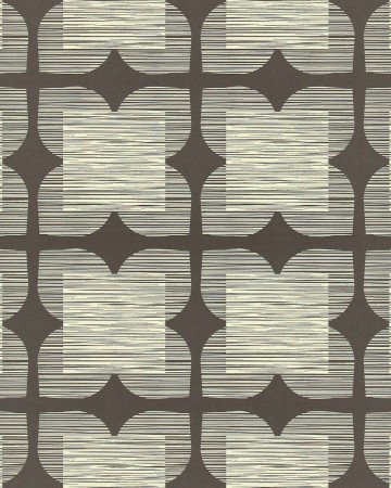 Flower-Tile-orla-kiely-behang-kleur-graphite-art-no-110420