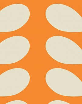 Giant-Stem-orla-kiely-behang-kleur-clementine-art-no-110396