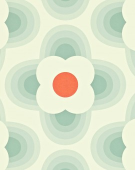 Striped-Petal-orla-kiely-behang-kleur-duck-egg-art-no-110404